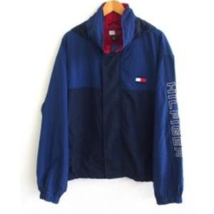 Tommy Hilfiger Colorblock Hooded Jacket - Like New